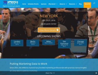 emetrics.org screenshot