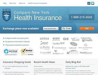 nyhealthinsurer.com screenshot