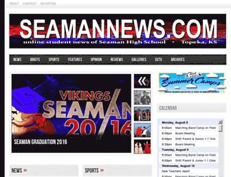seamannews.com screenshot