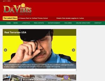 dominicavibes.dm screenshot