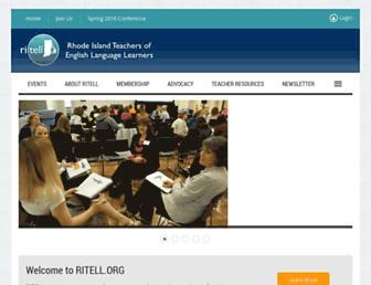 ritell.org screenshot
