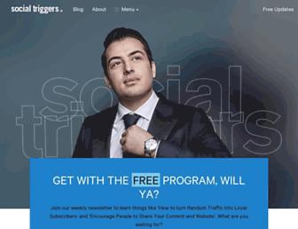 socialtriggers.com screenshot