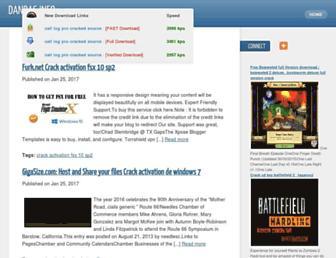 dandas.info screenshot