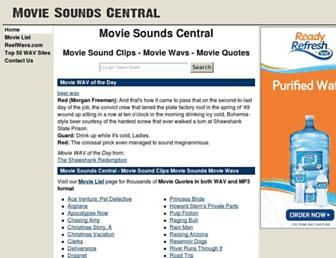 moviesoundscentral.com screenshot