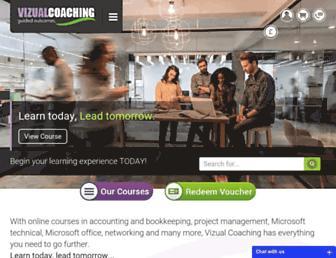 vizualcoaching.com screenshot