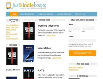 Thumbshot of Justkindlebooks.com