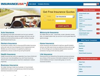insuranceusa.com screenshot