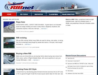 Main page screenshot of rib.net