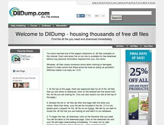 Thumbshot of Dlldump.com