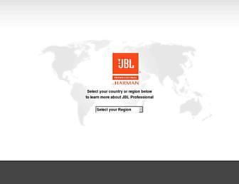 jblpro.com screenshot