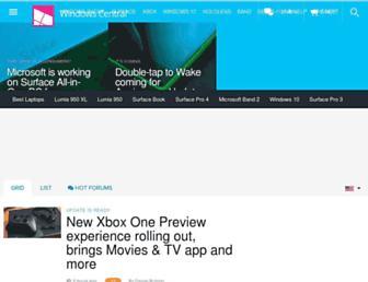 m.wpcentral.com screenshot