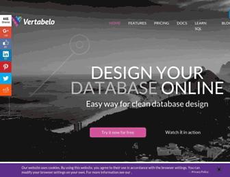 vertabelo.com screenshot