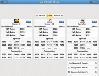 mobile.4dking.com.my screenshot