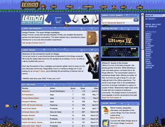 lemonamiga.com screenshot