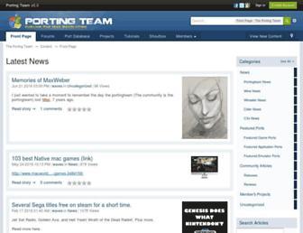 portingteam.com screenshot