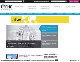 lechotouristique.com screenshot