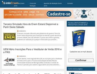 infoenem.com.br screenshot