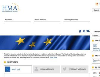 hma.eu screenshot