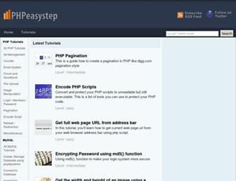 Thumbshot of Phpeasystep.com