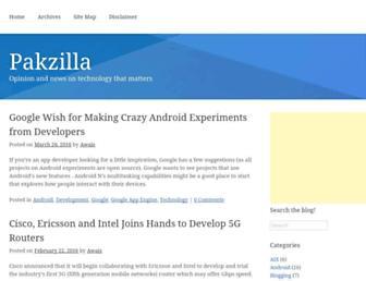 pakzilla.com screenshot