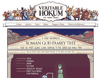 veritablehokum.com screenshot