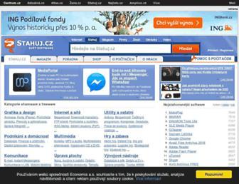 stahuj.centrum.cz screenshot