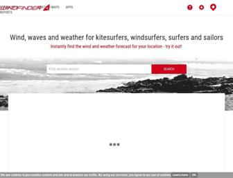 Thumbshot of Windfinder.com