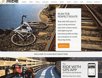 Thumbshot of Ridewithgps.com