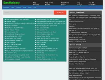 senzamusic.com screenshot