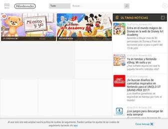 nintendo.es screenshot