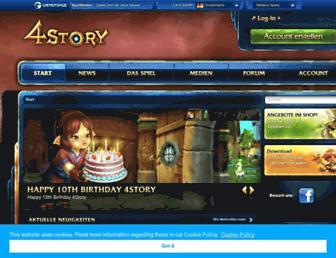 de.4story.gameforge.com screenshot