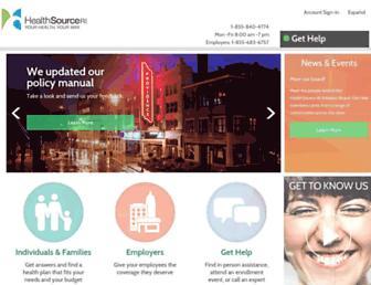 healthsourceri.com screenshot
