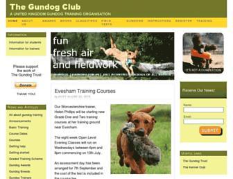 Thumbshot of Thegundogclub.co.uk