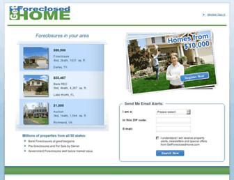 Thumbshot of Getforeclosedhome.com