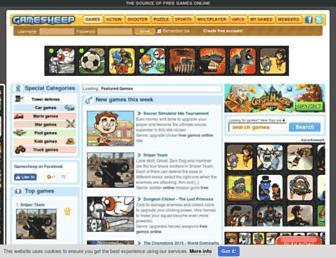 gamesheep.com screenshot