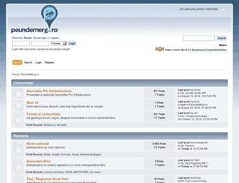 forum.peundemerg.ro screenshot
