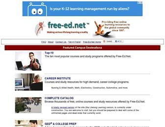 Thumbshot of Free-ed.net