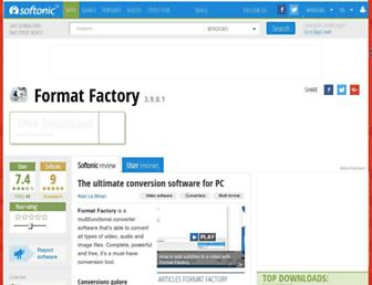 format-factory.en.softonic.com screenshot