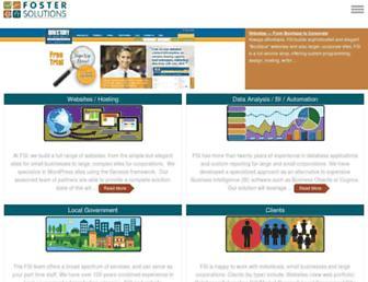 fostersolutions.com screenshot