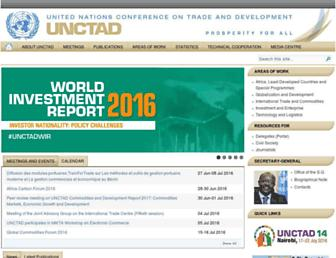 unctad.org screenshot