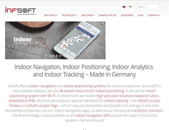 infsoft.com screenshot