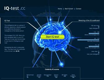 Thumbshot of Iq-test.cc