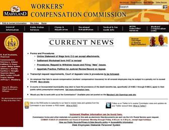 wcc.state.md.us screenshot