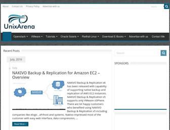 unixarena.com screenshot