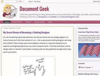 documentgeek.blogspot.com screenshot