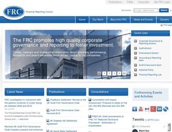 frc.org.uk screenshot