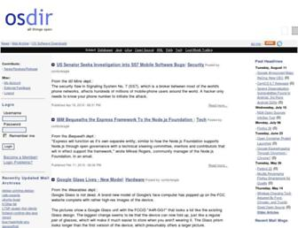 Thumbshot of Osdir.com