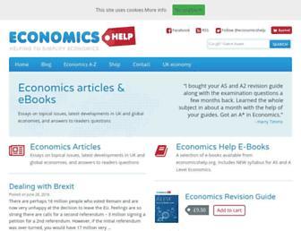 economicshelp.org screenshot