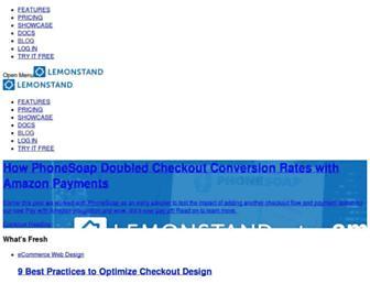 blog.lemonstand.com screenshot