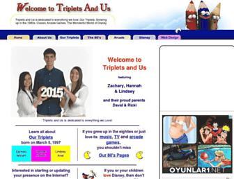 tripletsandus.com screenshot